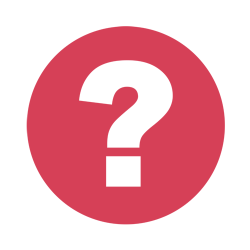 What is open data question mark icon